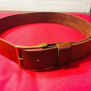 J.CREW Brown Belt